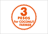 3 PESOS for COCONUT FARMER